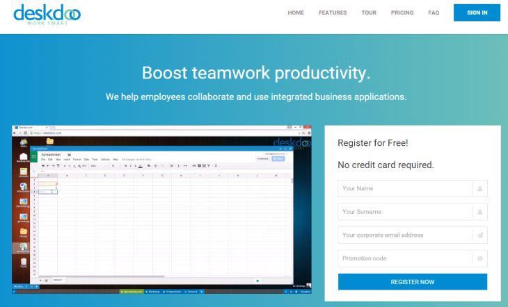 Deskdoo, sistema operativo en la nube para empresas.